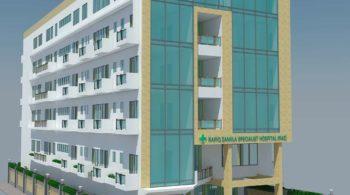6 Storied Hospital at Sherpur
